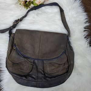 Lucky Brand Italian Leather Ombre' Bag